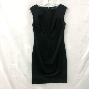 Brooks Brothers V Neck Sleeveless Sheath Dress